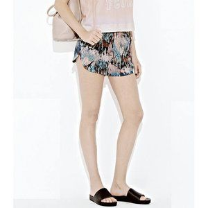 French Connection Isla Ripple Shorts Watercolor